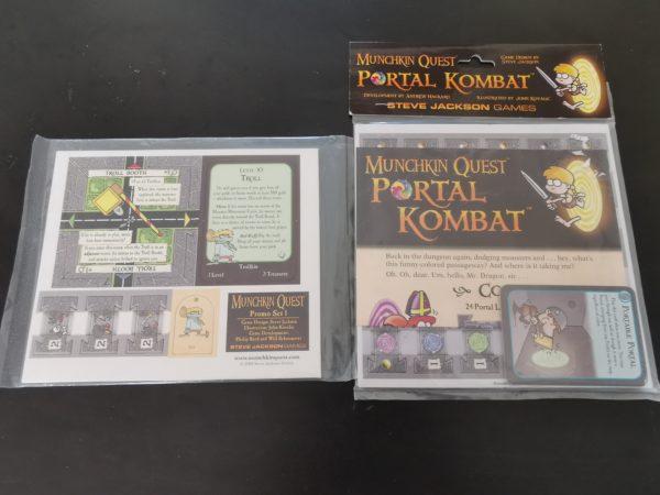Munchkin Quest Portal Kombat & Promo Set 1