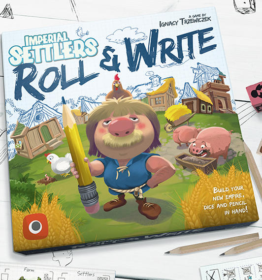 Imperial Settlers: Roll & Write (Original Portal Edition)